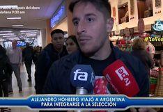Selección peruana: Alejandro Hohberg viaja a Argentina para incorporarse a la bicolor