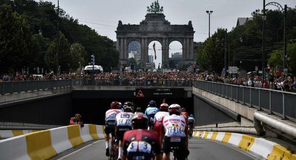 La etapa 2 del Tour de Francia se disputará entre el Palacio Real y el Atomium. (Foto: AFP)