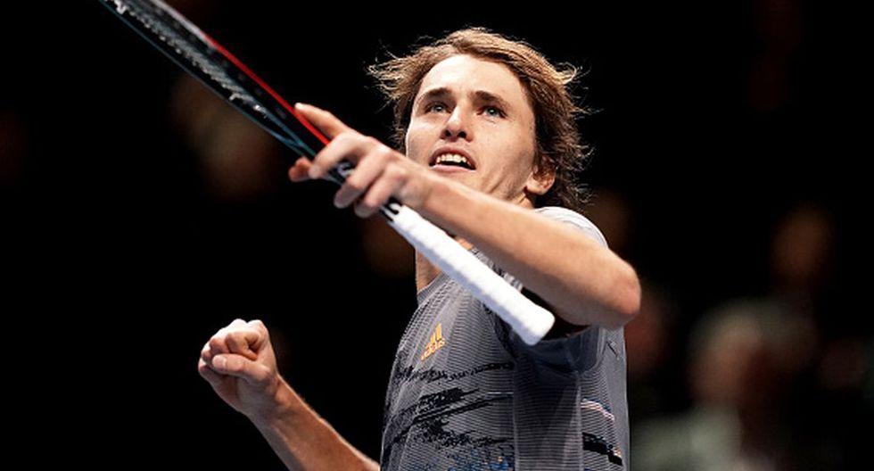 Alexander Zverev se ubica en el puesto 7 del ranking de la ATP. (Getty Images)