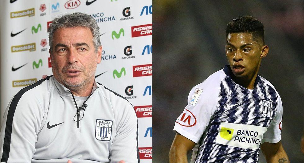 Alianza Lima: Pablo Bengoechea reveló que Kevin Quevedo fue cambiado porque estaba con diarrea en el entretiempo | VIDEO