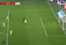¡GOLAZO! Doblete de Dembélé: se lleva al arquero con asistencia de Lionel Messi [VIDEO]