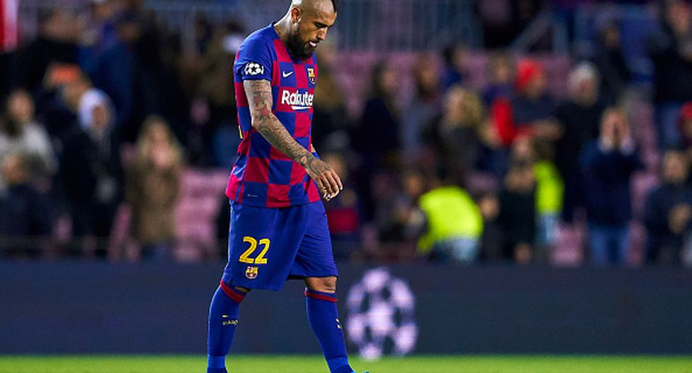 Arturo Vidal llegó la temporada pasada a Barcelona. (Getty)