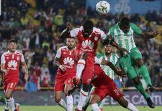 Atlético Nacional perdió 2-1 ante Santa Fe por cuadrangular amistoso