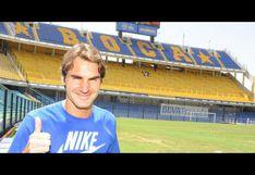 Su 'Majestad' Román: Federer se compara con Riquelme y a Wimbledon con La Bombonera