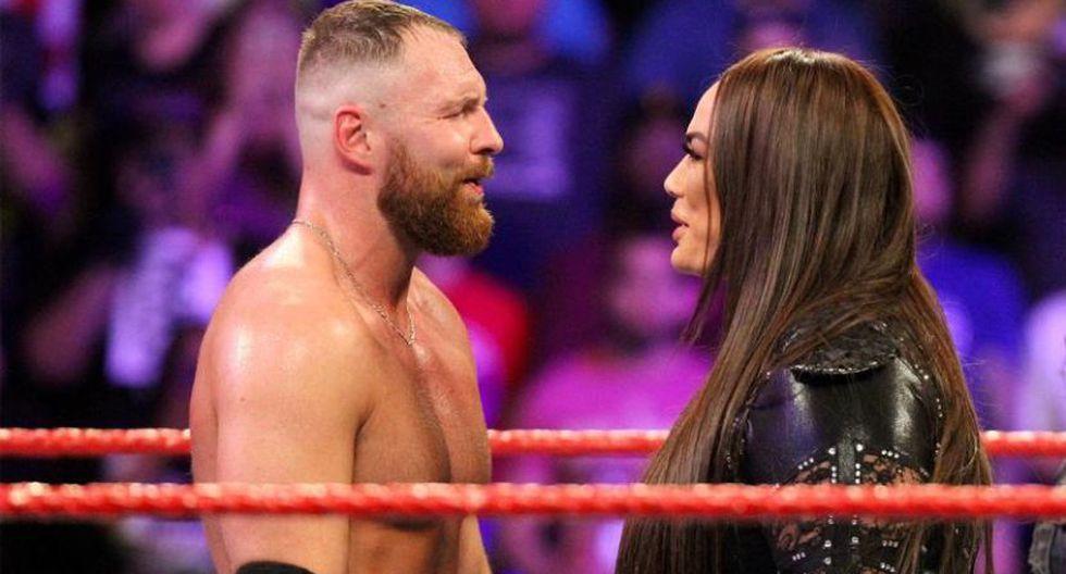 Dean Ambrose y Nia Jax no se enfrentarán en evento en vivo de WWE. (WWE)