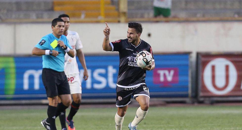 Juan Pablo Vergara vistiendo la camiseta de UTC. (GEC)