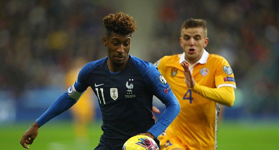 Francia y Moldavia se enfrentan en las Clasificatorias para la Eurocopa. (Foto: Getty)