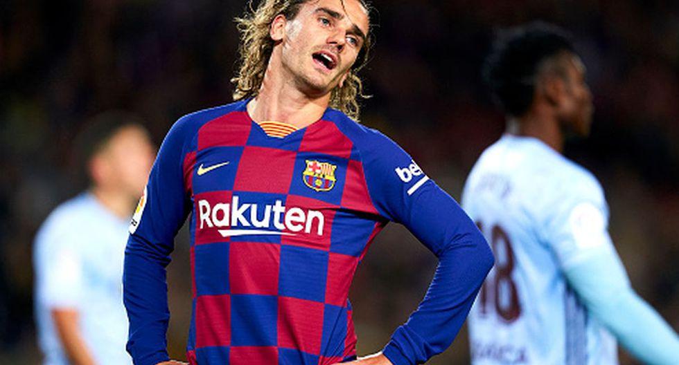 Griezmann tiene contrato con la camiseta del Barcelona hasta 2024. (Foto: Getty Images)