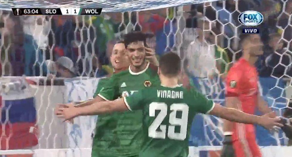 ¡Jiménez lo vuelve a hacer! Anota en Europa League y le da la victoria a los Wolves en Europa League