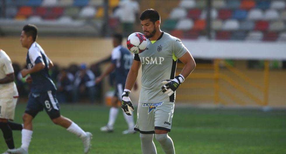 Erick Delgado disputó su undécimo partido con San Martín. (Violeta Ayasta)