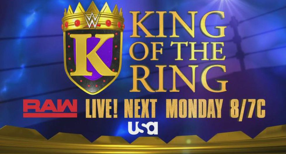 Afiche promocional de King of the Ring. (WWE)