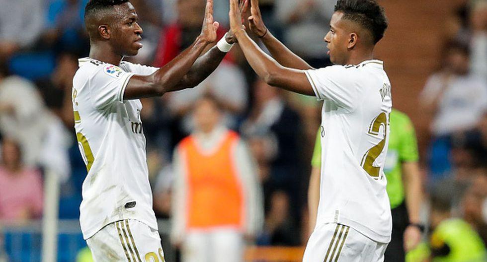Rodrygo Goes y la buena relación con Vinicius en Real Madrid. (Getty / El Chiringuito)