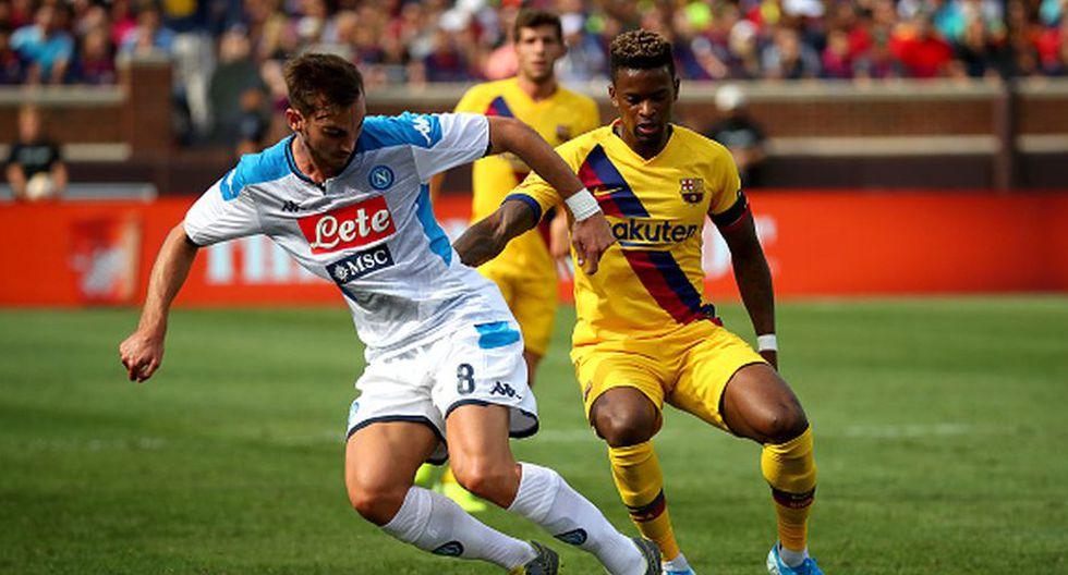 ¡Conectados desde Michigan! Canales y horarios del Barcelona vs. Napoli EN VIVO por Amistoso en Estados Unidos. (Getty)