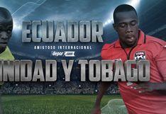 En HD, Ecuador vs Trinidad y Tobago EN VIVO por el Canal del Fútbol: juegan ya en PortoViejo por amistoso FIFA