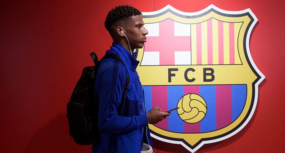 Jean-Clair Todibo tiene contrato en Barcelona hasta mediados de 2023. (Foto: Getty)
