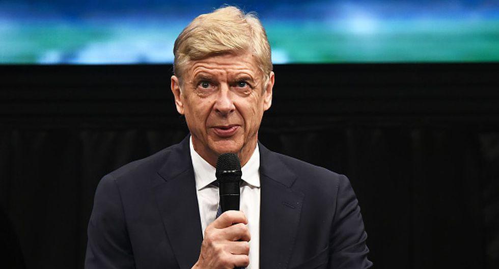 Arsene Wenger dejó Arsenal en la temporada 2018. (Getty)