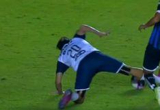 ¡Se salvó de milagro! La criminal falta de Rodofo Pizarro que pudo costarle la carrera a un jugador de Querétaro [VIDEO]