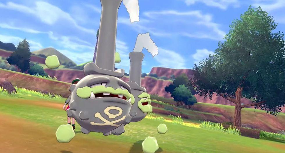 """""""Pokémon GO"""": se incluye al Weezing de Galar de """"Pokémon Espada y Escudo"""" en el videojuego. (Foto: Niantic)"""
