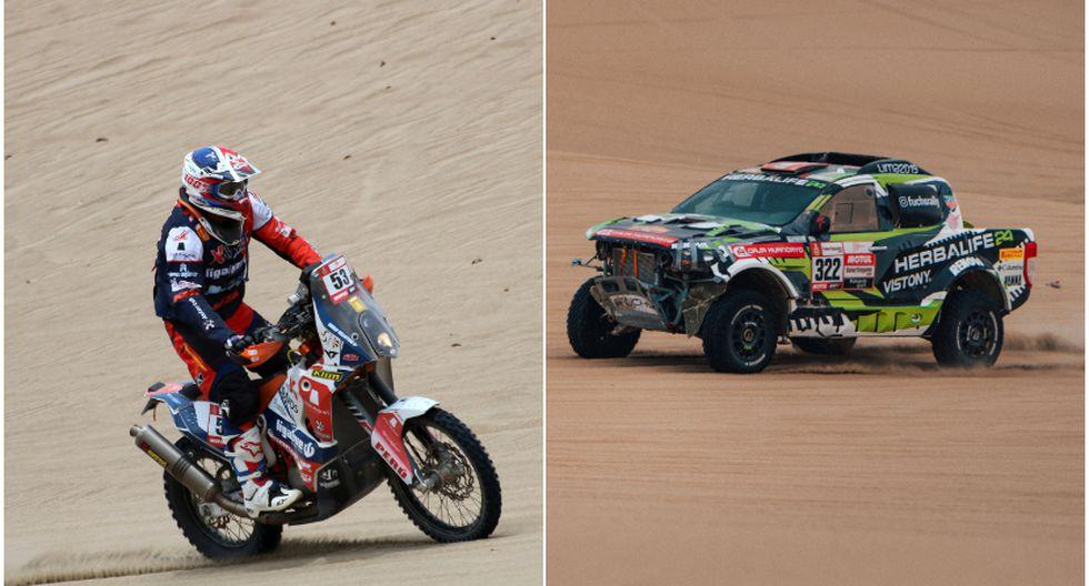 Los resultados finales de los pilotos peruanos en el Rally Dakar 2019. (Grupo Firbas/ITEA Photo)