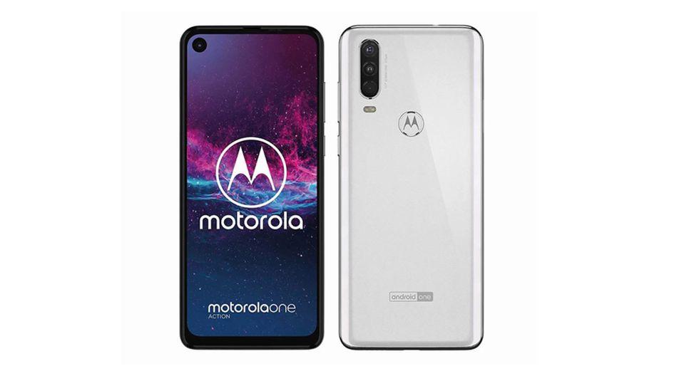 Se filtran todas las características del Motorola One Action, el celular que llegará con Android One 9 Pie y triple cámara trasera. (Foto: Motorola)