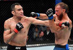 ¡Lluvia de golpes! Tony Ferguson venció a Donald Cerrone en un épico combate en el UFC 238 [VIDEO]