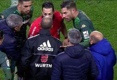 ¡Todo por demorar! La insólita expulsión a Giovani Lo Celso En la Copa del Rey [VIDEO]