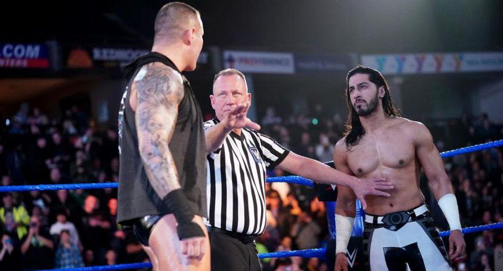 Randy Orton peleó y venció a Mustafa Ali en el último SmackDown Live. (WWE)