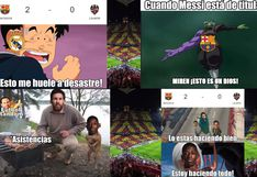 ¡Infaltables! Los mejores memes de la goleada del Barcelona sobre Levante por Copa del Rey [FOTOS]
