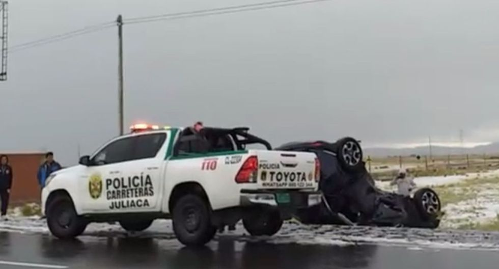 La posible causa del accidente de los jugadores de Binacional. (Captura)