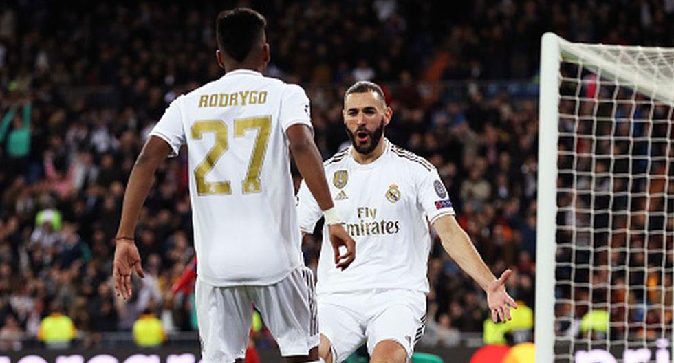 Los goles del Real Madrid ante Galatasaray por la Champions League 2019. (Getty / FOX Sports)