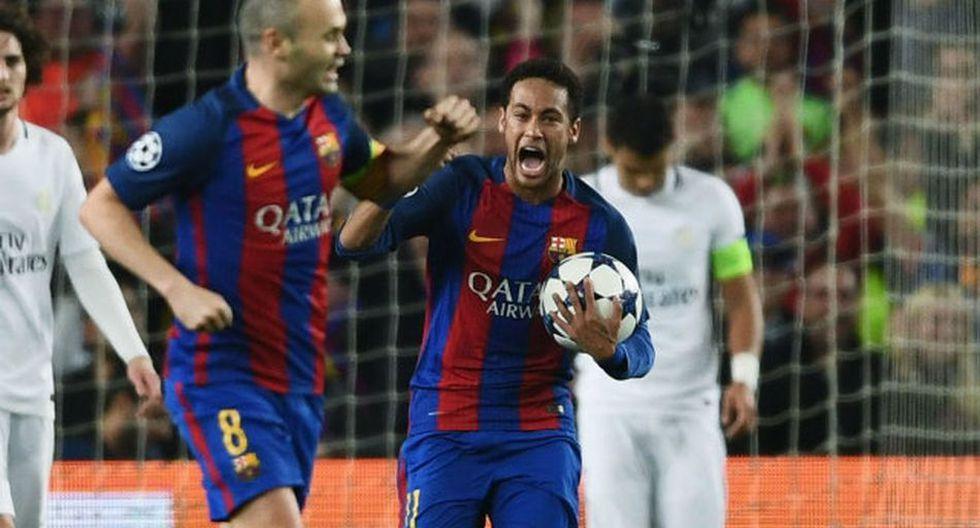 Neymar dejó Barcelona en la temporada 2017/18. (Getty)