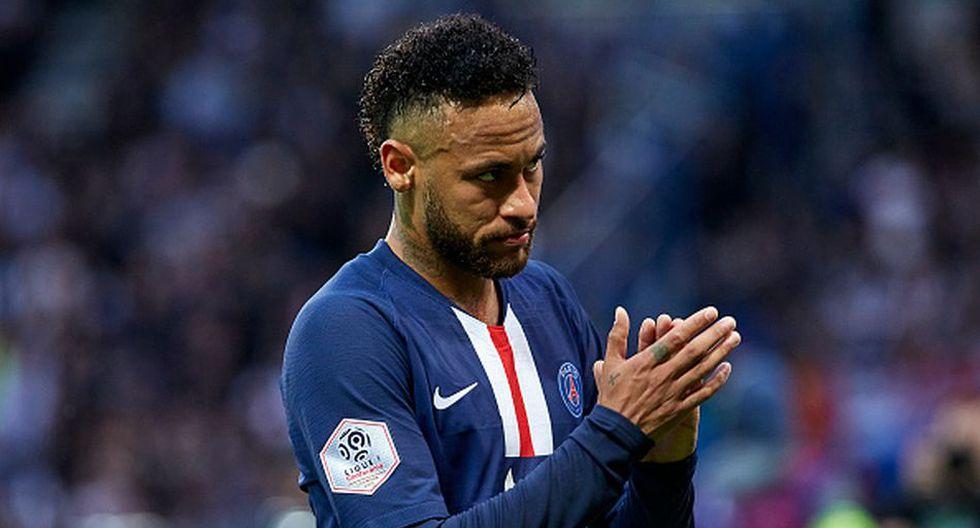 Neymar llegó al PSG en la temporada 2017/18 procedente de Barcelona. (Getty)