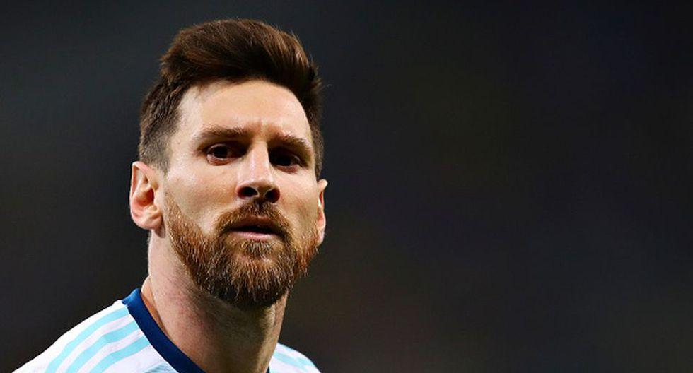 Lionel Messi disputó su quinta Copa América con Argentina en Brasil 2019. (Getty)