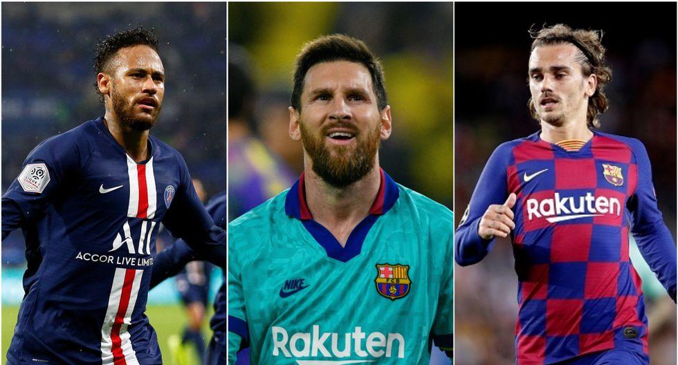 Neymar se fue del Barcelona en 2017 por 222 millones de euros. (Getty / AFP / AP)