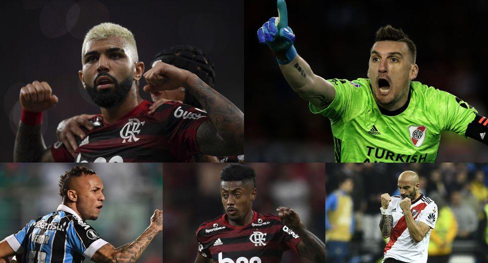 Lo mejor de lo mejor: el XI ideal de la Copa Libertadores 2019 previo a la final en Lima [FOTOS]