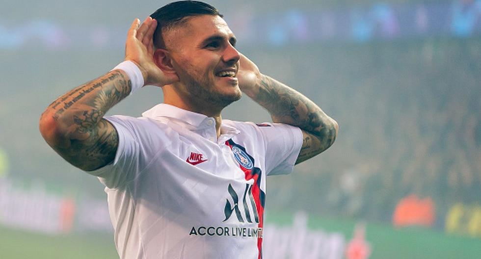 Mauro Icardi fue cedido por una temporada en el PSG. (Foto: Getty Images)