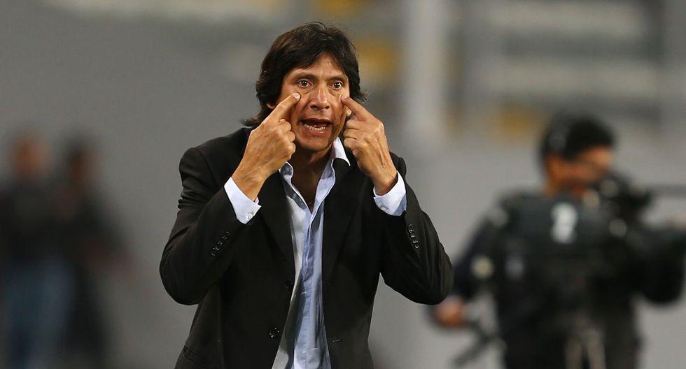 Ángel Comizzo dio una conferencia de prensa, tras ganarle a Alianza Lima. (Foto: GEC)