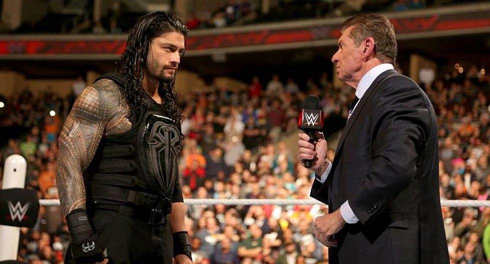 Roman Reigns volverá a enfrentar a Brock Lesnar el 27 de abril en Arabia Saudita. (WWE)