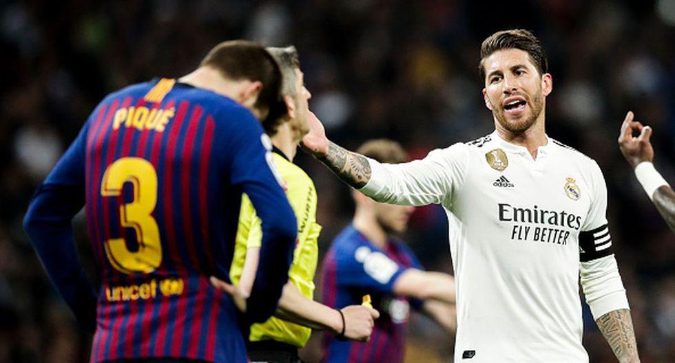 Hubo réplica: presidente de LaLiga le respondió a Ramos por su queja del horario en el Barcelona vs. Real Madrid