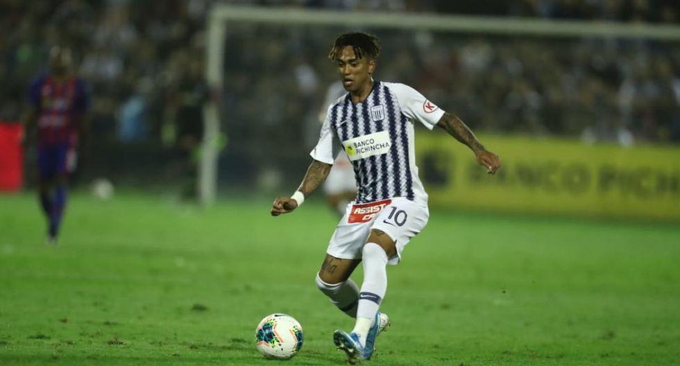 El consejo de Joazhiño Arroé a Kluiverth Aguilar tras el empate ante Alianza Universidad. (Foto: Giancarlos Ávila / GEC)
