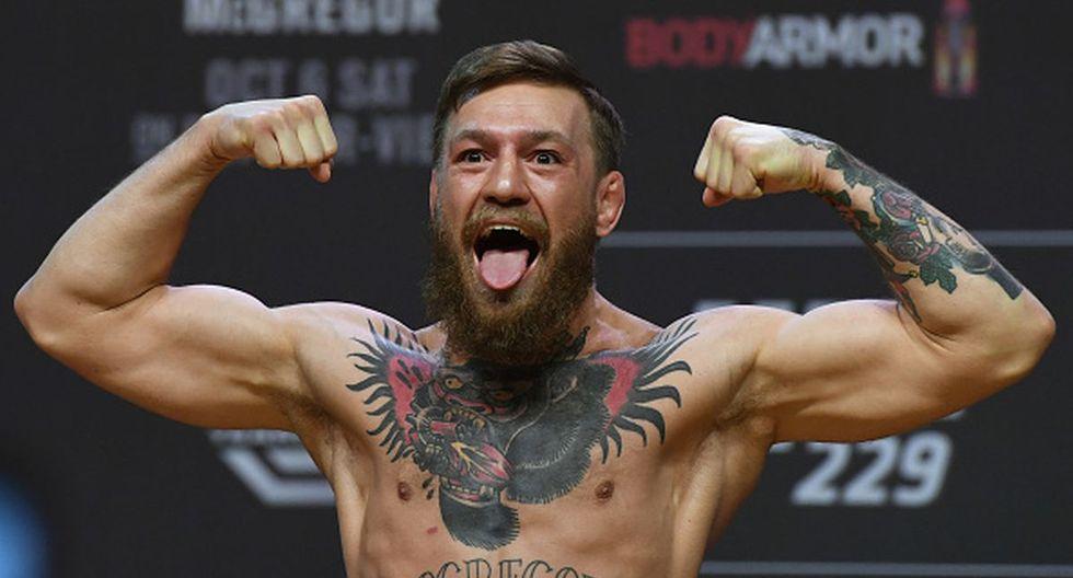 Conor McGregor registra un récord de 21-4 como peleador profesional. (Getty Images)
