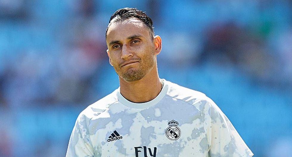 Keylor Navas llegó al Real Madrid en la temporada 2014. (Getty)