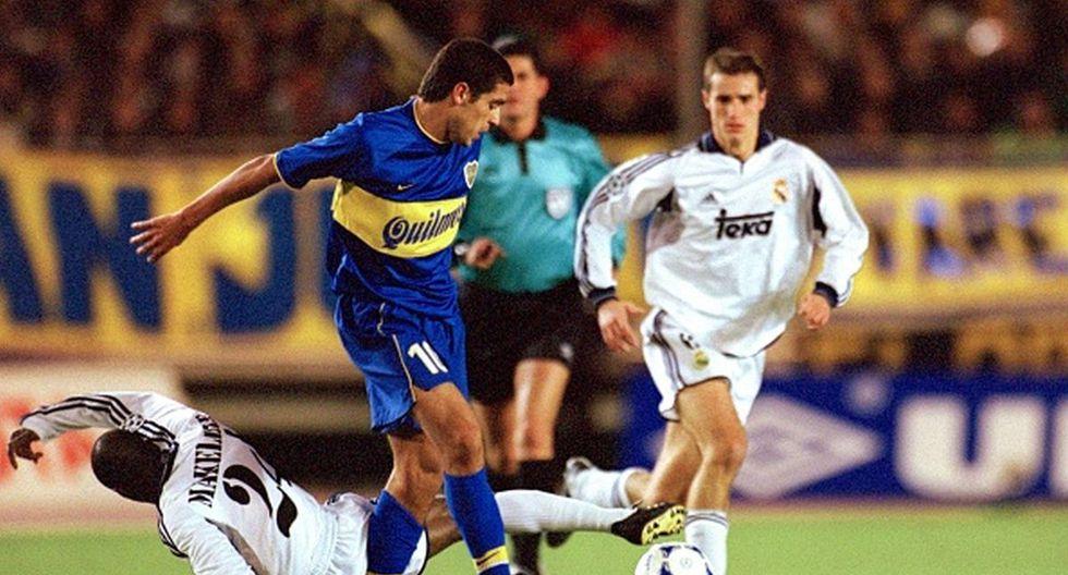 Boca Juniors ganó la Intercontinental 2000 con dos tantos de Palermo. (Getty)