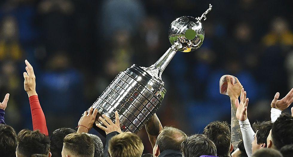 La Copa Libertadores ya se encuentra en Lima. (Foto: AFP)
