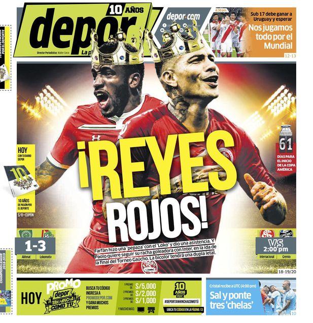 ¡Reyes Rojos!