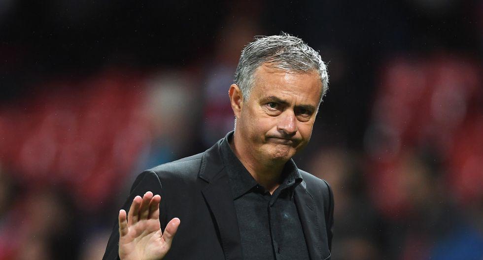 José Mourinho dirigió por última vez al Manchester United. (Getty)