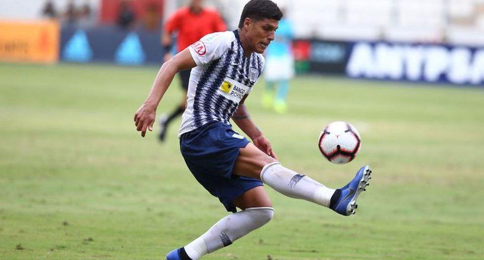 Alianza Lima buscará reducir la sanción de Hansell Riojas para juegue ante Unión Comercio por la última fecha del Clausura. (Foto: GEC)