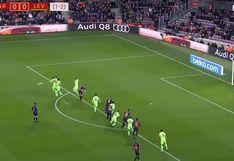 ¡Era un golazo! Lionel Messi casi anota de tiro libre para el Barcelona por Copa del Rey 2019 [VIDEO]