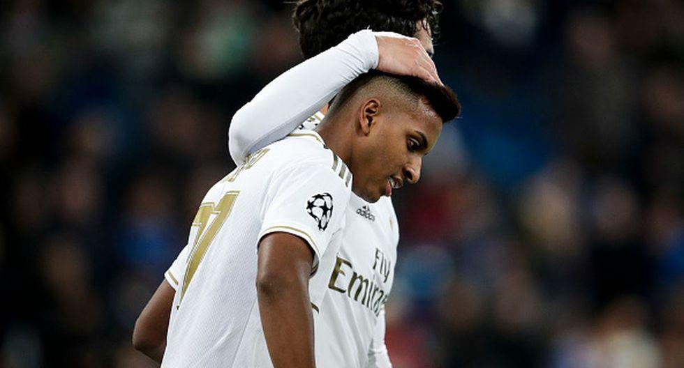 Rodrygo tiene cuatro goles con la camiseta del Real Madrid. (Foto: Getty Images)