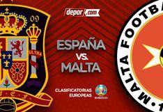 AQUÍ, España vs Malta EN VIVO vía DirecTV en Cádiz: juegan por el Grupo F de las Eliminatorias a la Eurocopa 2020